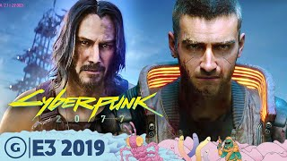 How Cyberpunk 2077 Got Keanu Onboard | E3 2019