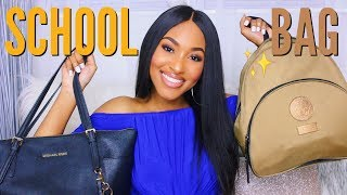 What's In My Backpack and Purse for Back To School