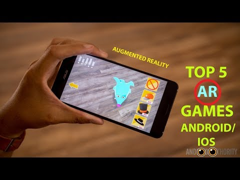 Top 5 Best AR(Augmented Reality) Games Android/iOS 2018 HD