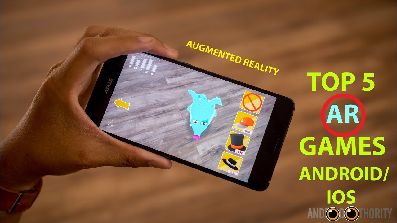 Top 5 Best AR(Augmented Reality) Games Android/iOS 2018 HD - YouTube