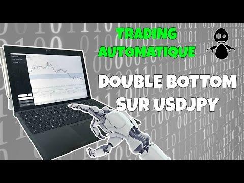 DOUBLE BOTTOM SUR USDJPY (trading automatique)