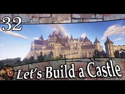 Minecraft: Let's Build a Castle - Ep.32 - Stables/Palace Gardens/Barracks