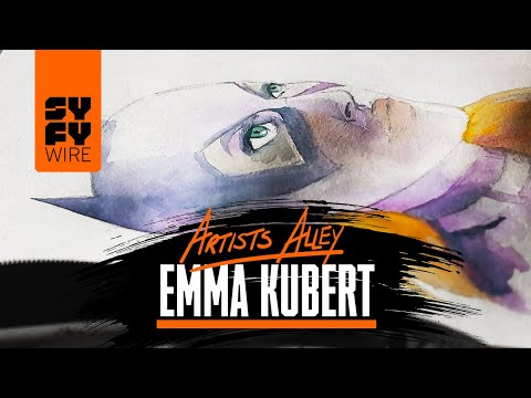 See Batgirl Painted By Emma Kubert | SYFY WIRE