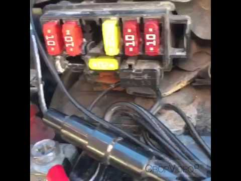 Honda shadow fuse box YouTube