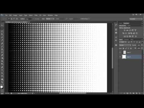 Photoshop Tutorial: Create A Halftone Effect -HD-