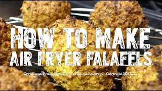 How to Make Air Fryer Falafel