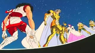 Los caballeros del zodiaco seiya vs saga  hd 1080p thumbnail