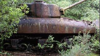 Находка в лесу Заброшенные танки