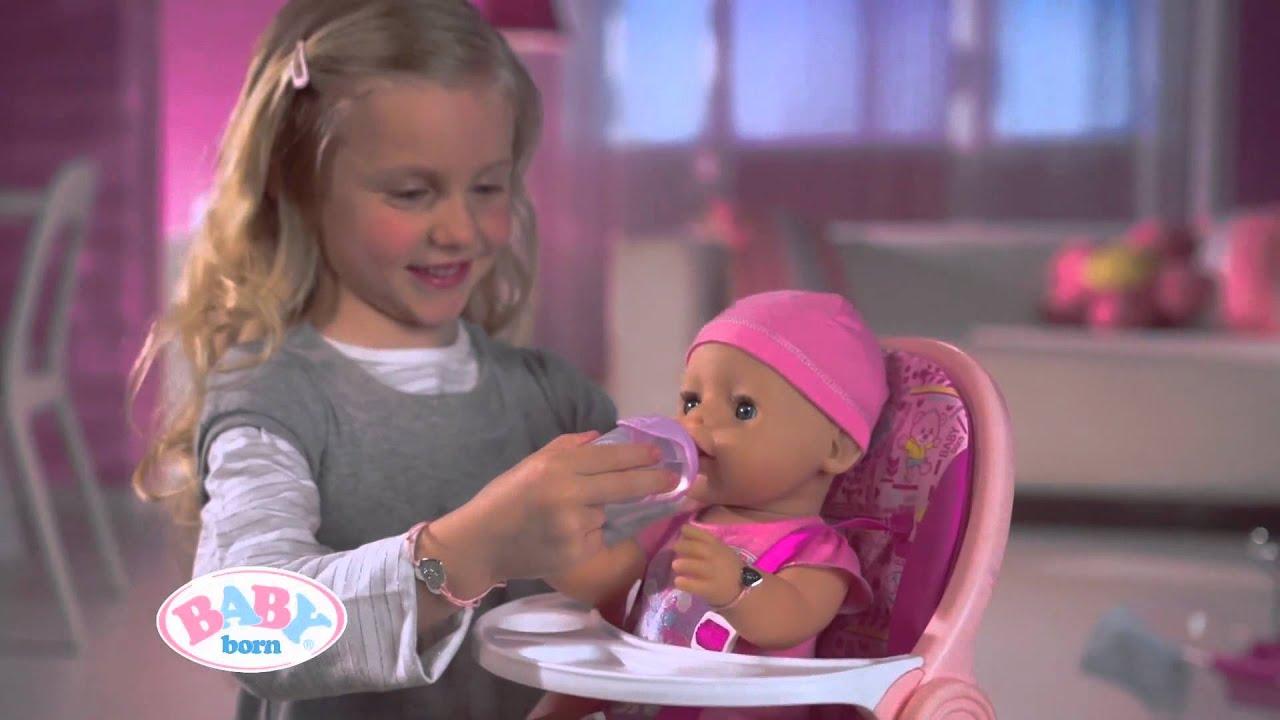 interactieve pop - baby born - zapf creation - nl