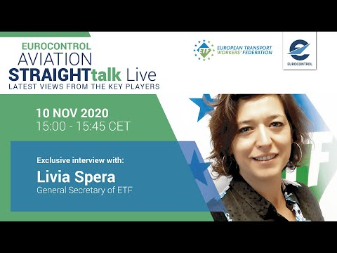 Aviation StraightTalk Live with European Transport Workers Federation General Secretary, Livia Spera
