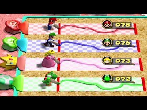 Mario Party 4 - All Score Minigames