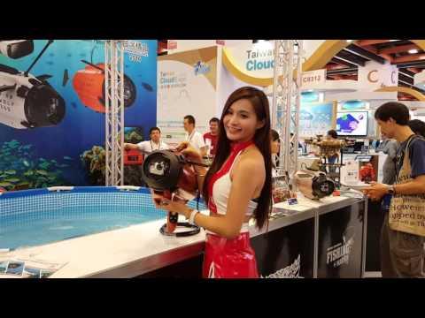 [Computex 2016] TTRobotix Seawolf GoPro submarine - DeepSea Challenger