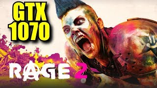 RAGE 2 GTX 1070 | 1080p & 1440p Ultra Settings | FRAME-RATE TEST