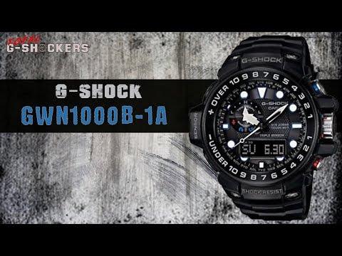 Casio G-SHOCK Gulfmaster GWN1000B-1A | G Shock Black Bezel Gulfmaster Top 10 Things Watch Review