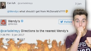 Wendy's Is Roasting People On Twitter thumbnail