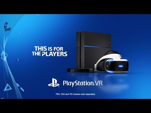 PlayStation VR | Games Trailer | RRP £349.99 | Project Morpheus | HD