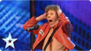 Maarty Broekman woos Alesha with his Keytar | Week 6 Auditions | Britain's Got Talent 2013