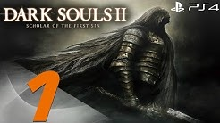 Dark Souls 2 PS4 - 60fps Walkthrough Part 1 - Prologue