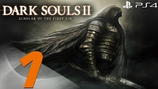 Dark Souls 2 PS4 - 60fps Walkthrough Part 1 - Prologue
