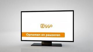 Interactieve televisie Humax - Pauzeren en opnemen - Ziggo