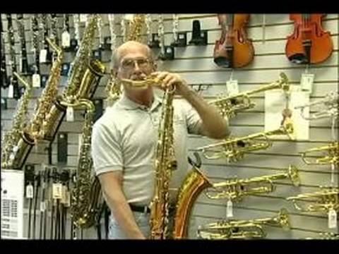 Choosing a Musical Instrument : Tenor Sax Tips
