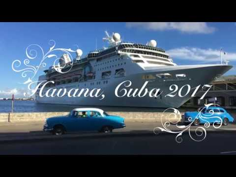 The Rogers Family - Havana Cuba Cruise October 2017 RCL Empress of the Seas