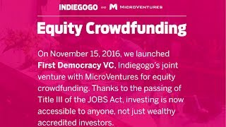 Equity crowdfunding – 6 months in