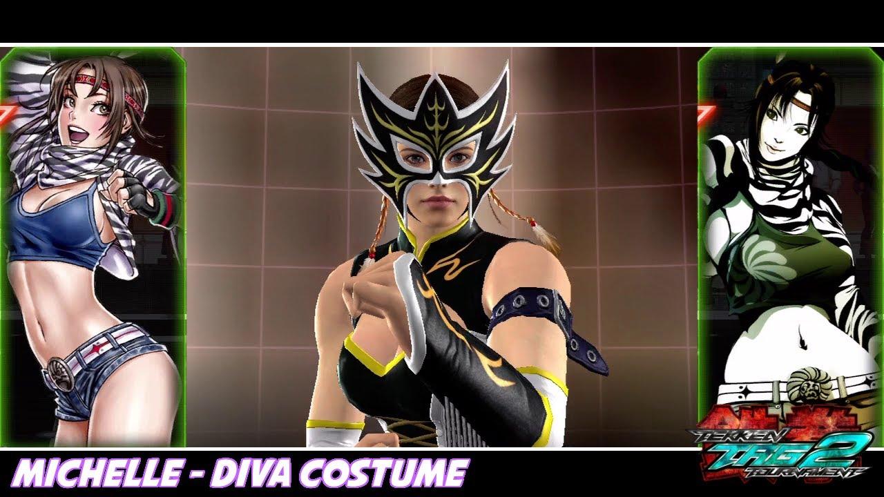 Tekken Tag Tournament 2 Michelle Diva Costume Tomahawk Youtube
