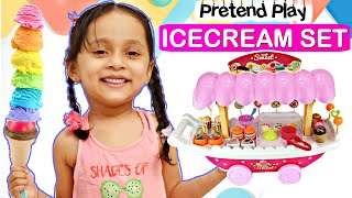 Kids Pretend Play Selling ICE CREAM Set | ToyStars