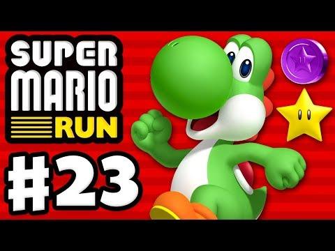Super Mario Run - Gameplay Walkthrough Part 23 - World Star Purple Coins! Remix 10! (iOS)