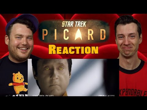 Star Trek: Picard - SDCC Trailer Reaction / Review / Rating
