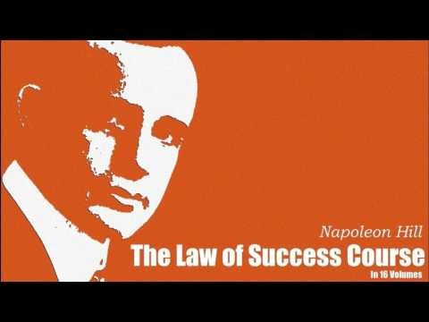 Napoleon Hill, The Law of Success Course in 16 Lessons: Lesson 1