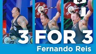 Fernando Reis | 3 for 3 - Snatch