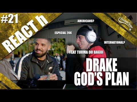 Drake - God's Plan   [ REACT h #21 / Análise ] -ESPECIAL 20K INSCRITOS-