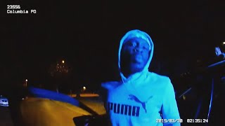 Body cam of Nathaniel Rowland arrest played during trial: raw video