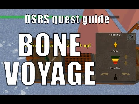 [OSRS] Bone Voyage quest guide