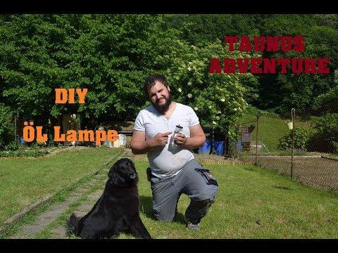 DIY - Öl Lampe selber bauen (Bushcraft; Outdoor, Survival)