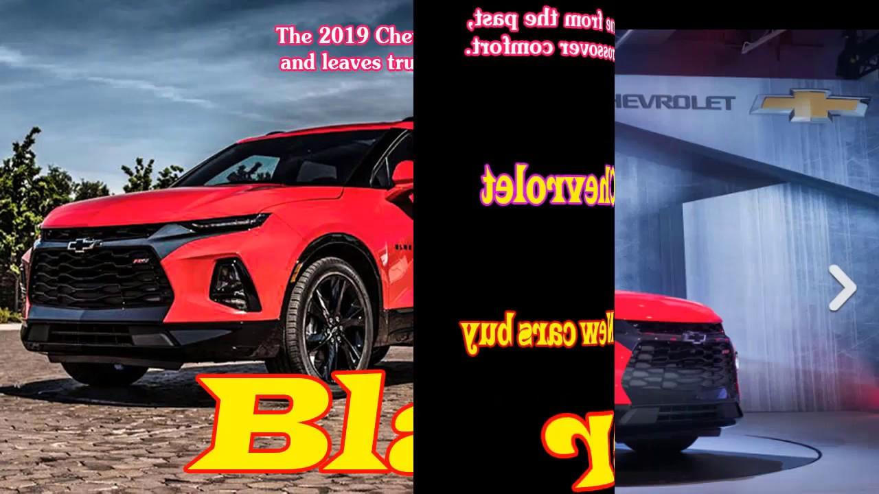 2019 Chevy Blazer Rs 2019 Chevy Blazer Off Road 2019 Chevy