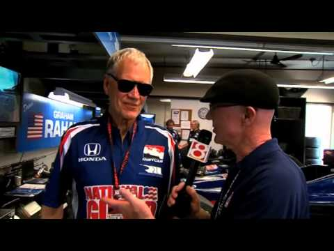 Derek Daly Interviews David Letterman at the Indy 500 in 2014