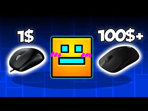 1$ Mouse Vs 100$ Mouse | Geometry Dash [2.11]