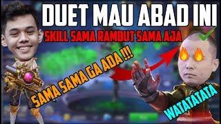SUSAH MAIN SAMA PRO PLAYER SKILL PUBLIK !!! SKILL SESUAI RAMBUT !!!