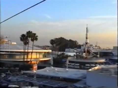 Disneyland Anaheim 1994 - Skyway To Tomorrowland