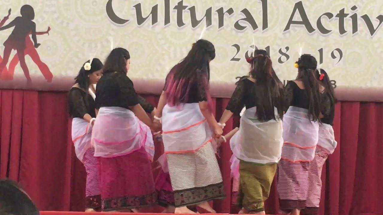 Manipuri Cultural Dance In St Philomena S College Mysore Youtube