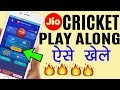 How to Play Jio Cricket Play Along and Win Prizes at MyJio App   Jio Ipl 2018 Offer [Hindi]