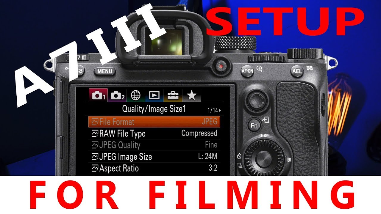 Sony A7iii Video File Size