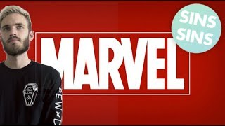 """Everything Wrong With Pewdiepie's """"I DON'T LIKE MARVEL MOVIES"""""""