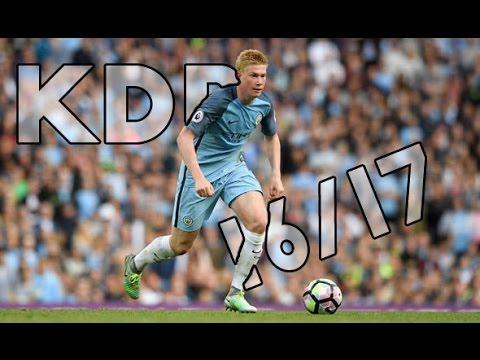 Kevin De Bruyne (Assists-Key Passes) 2016/17 HD