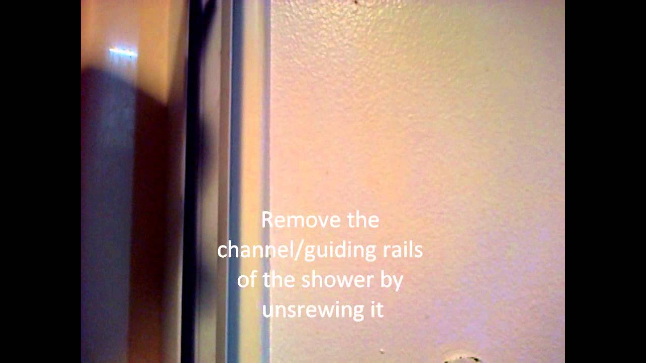 How To Remove An Old Corner Bath Shower