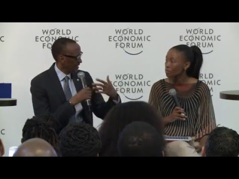 Meet the Leader Session at World Economic Forum on Africa | Kigali, 13 May 2016