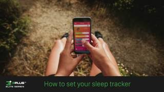 3plus lite how to set your sleep tracker